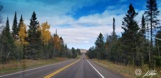 Sur la route de nouveau ! Image stock