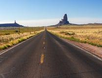Sur la route de nouveau Photo libre de droits