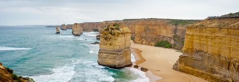 Sur la route grande d'océan - Australie Photographie stock