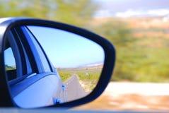 Sur la route, le Maroc Images libres de droits