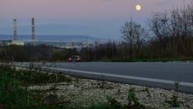 Sur la route vers Varna Image stock