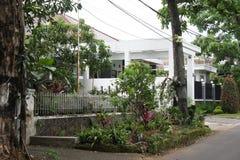 Sur la rue de Bandung dans Java occidental Images libres de droits