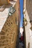 Sur la rue de la vieille ville Image stock