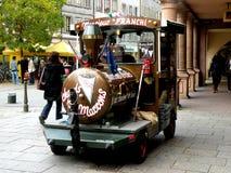 Sur la rue à Salzbourg, l'Autriche Photos stock
