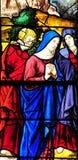 Sur la Seine, France de Triel - 3 avril 2016 : église photo libre de droits