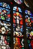 Sur la Seine, France de Triel - 12 juin 2016 : saint pittoresque Marti images libres de droits
