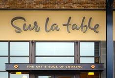 Sur-La-Tabellenspeicher Lizenzfreie Stockfotografie