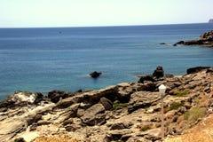 Sur le bord de la mer Image libre de droits