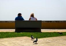 Sur le bord de mer de Funchal madeira portugal photos stock