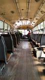 Sur le bus Photos libres de droits