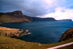 Sur le chemin à l'île de Skye d'Inverness photos libres de droits