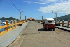 Sur le chemin au dock Photo libre de droits