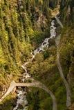 Sur le chemin au monastère Sumela Image stock