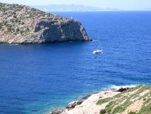 Sur le chemin dans la mer ouverte Photos libres de droits