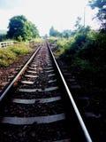 Sur le chemin de fer 1 Photo libre de droits