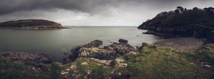 Sur le chemin les Cornouailles Angleterre R-U de côte Photos libres de droits