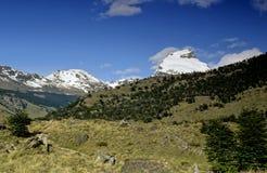 Sur le chemin vers Cerro Torre Photo libre de droits