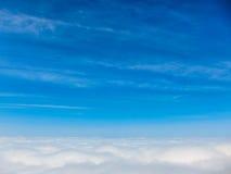Sur le ciel Image libre de droits
