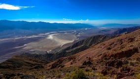 Sur le Death Valley Images libres de droits