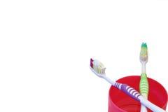 Sur le dentifrice de bore photographie stock libre de droits