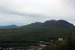 Sur le dessus de la colline de Zheleznaya, la Russie Images libres de droits