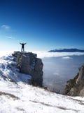 Sur le dessus du monde Image libre de droits