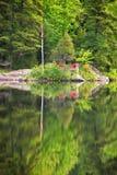 Sur le dock photo stock