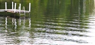 Sur le lac Photo libre de droits