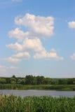 Sur le lac Image libre de droits