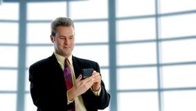 Sur le PDA image libre de droits