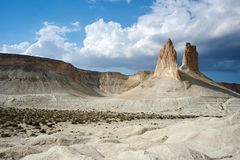 Sur le plateau d'Oust-Ourt image libre de droits