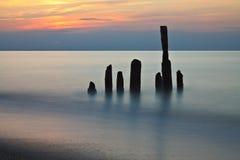 Sur le rivage Photographie stock libre de droits