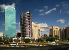 Sur les rues de Dubaï Photos stock