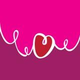 Sur les vagues de l'amour Image stock