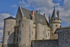 Κηλίδα sur Loire, Γαλλία - 4 Απριλίου 2015: το μεσαιωνικό κάστρο Στοκ φωτογραφία με δικαίωμα ελεύθερης χρήσης