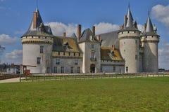 Κηλίδα sur Loire, Γαλλία - 4 Απριλίου 2015: το μεσαιωνικό κάστρο Στοκ Εικόνα