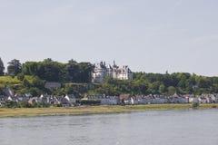 Sur Loire de Chaumont imágenes de archivo libres de regalías