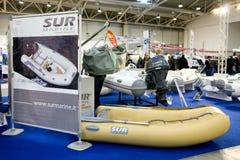 Sur Marine Inflatable Boats Arkivbilder
