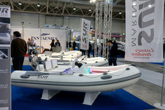 Sur Marine Stand At Boat Show Roma Stock Photo