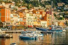 Sur Mer, France de Villefrance Photos libres de droits