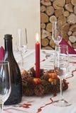 Sur Noël de table Photos stock