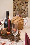Sur Noël de table Image stock