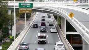 Sur pacífico de la autopista M3 limitado en Brisbane metrajes