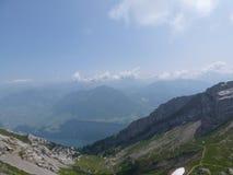 Sur Pilatus Lucerne, la Suisse photo libre de droits
