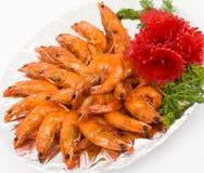 sur sötsak för kinesiska matsåsräkor Arkivbild