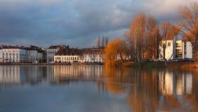 Sur Saône de Chalon Photos stock