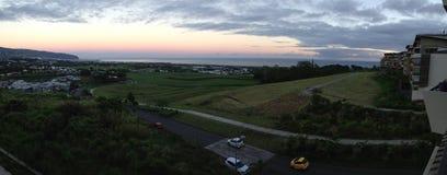 Sur sainte Денис de Ла реюньон панорамы Стоковая Фотография RF