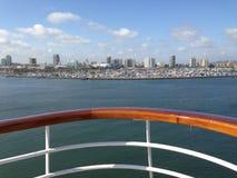 Sur un bateau Photo libre de droits
