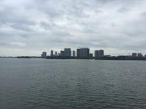 Sur un bateau de croisière à Wuhan, Hubei, Chine image libre de droits