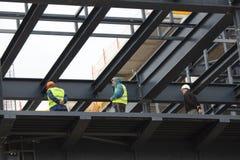 Sur un chantier de construction 2 Image stock